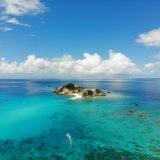 渡嘉敷島の無人島ハナレ島