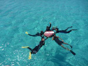 snorkeling image